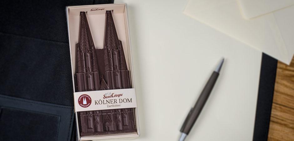 Der SweetCologne Kölner Dom als Werbegeschenk