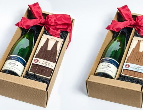 Schokolade & Wein: Die Genussbox ist da