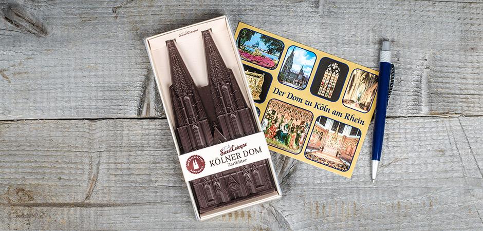 SweetCologne Kölner Dom aus Schokolade als Souvenir