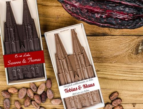 Hochzeit in Köln? Mit dem Dom aus Schokolade