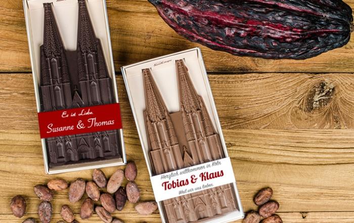 Hochzeit in Köln mit Dom aus Schokolade