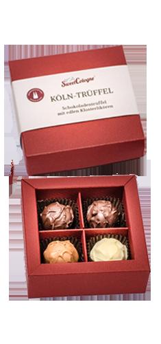 SweetCologne Köln-Trüffel 4er-Box