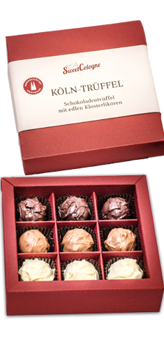 SweetCologne Köln-Trüffel 9er-Box